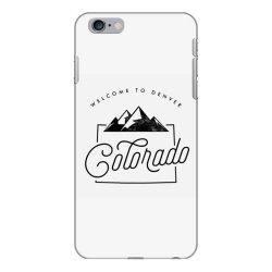 welcome to colorado iPhone 6 Plus/6s Plus Case | Artistshot
