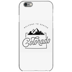welcome to colorado iPhone 6/6s Case | Artistshot