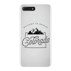 welcome to colorado iPhone 7 Plus Case | Artistshot