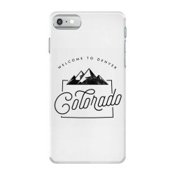 welcome to colorado iPhone 7 Case | Artistshot