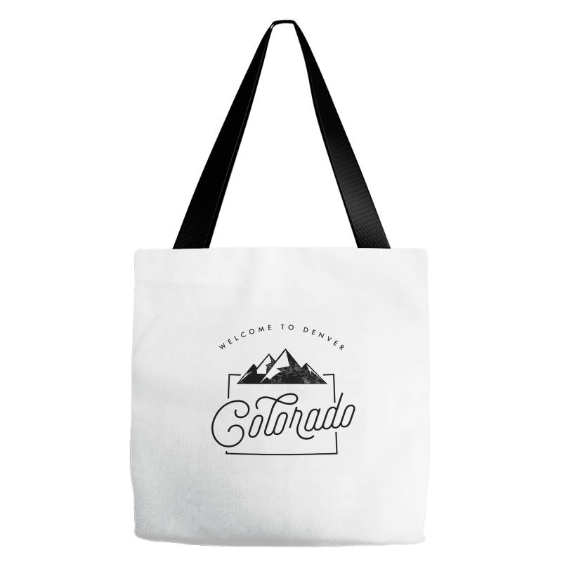 Welcome To Colorado Tote Bags   Artistshot