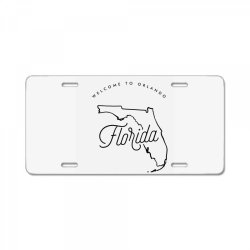 welcome to florida License Plate | Artistshot