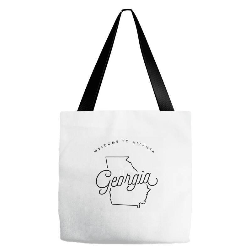 Welcome To Georgia Tote Bags | Artistshot