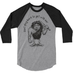 hard to get 3/4 Sleeve Shirt   Artistshot
