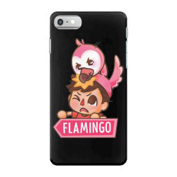 flim flam flamingo funny iPhone 7 Case | Artistshot