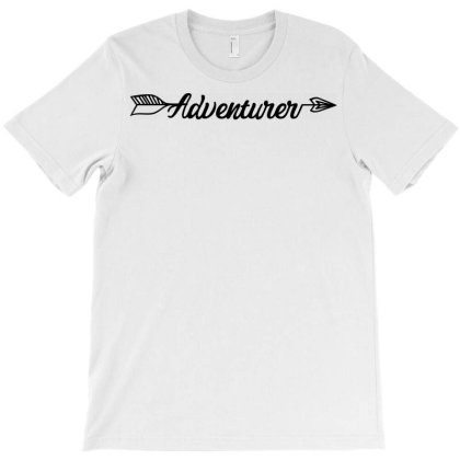 Adventurer T-shirt Designed By Ombredreams