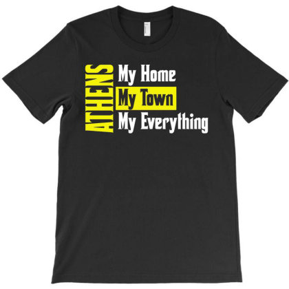 Athens Greece T-shirt Designed By L4l4pow