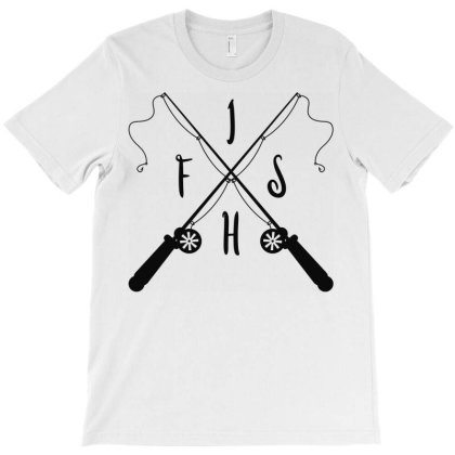 Fishing T-shirt Designed By Ombredreams