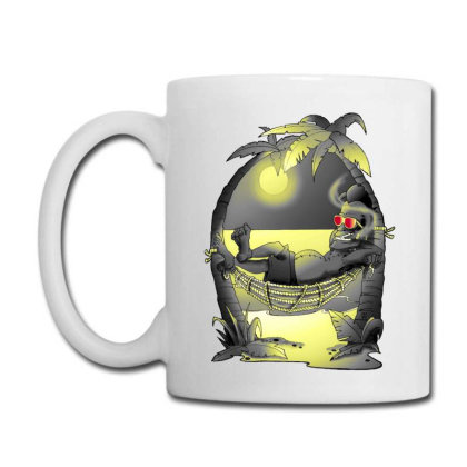 Chilling Frank Coffee Mug Designed By Mat_c_art