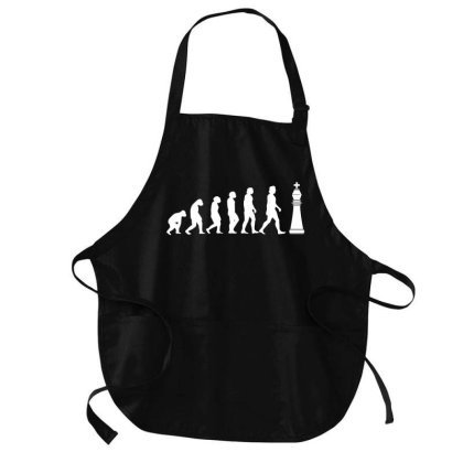 Chess Evolution Play Chess Medium-length Apron Designed By L4l4pow