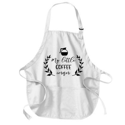 Coffee Corner Medium-length Apron Designed By Chiks