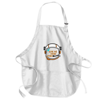 Give Me More Space Medium-length Apron Designed By Chiks