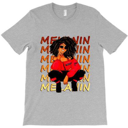 Proud Afro Woman T-shirt Designed By Jameszestrada