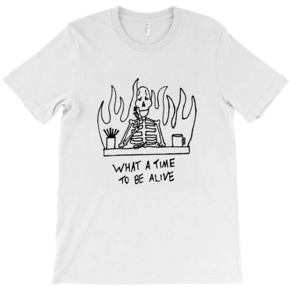 What A Time To Be Alive T-shirt Designed By Numa