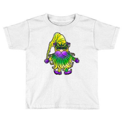 Gnomes Mardi Gras Toddler T-shirt Designed By Badaudesign