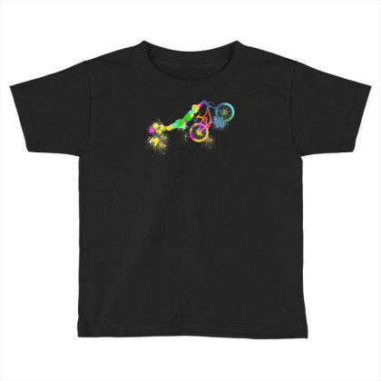 Festif Bike Toddler T-shirt Designed By L4l4pow