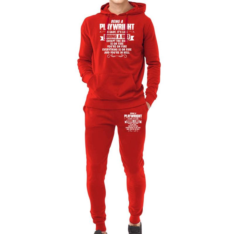 Being A Playwright Hoodie & Jogger Set | Artistshot