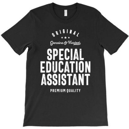 Special Education Assistant Gift Funny Job Title Profession Birthday I T-shirt Designed By Cidolopez