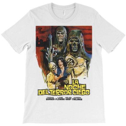 Blind Dead. La Noche Del Terror Ciego. T-shirt Designed By Activoskishop