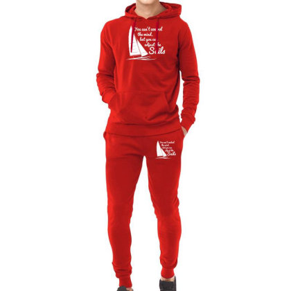 You Can't Control Wind But Adjust The Sails Hoodie & Jogger Set Designed By Gematees