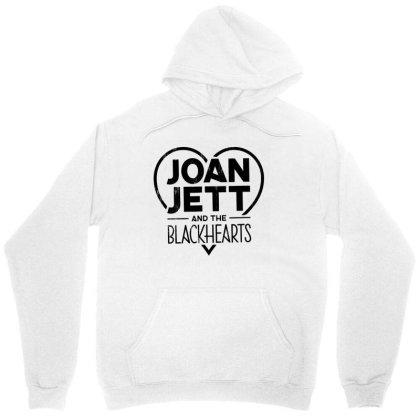 Joan Jett Official Distressed Blackhearts Unisex Hoodie Designed By La Bold