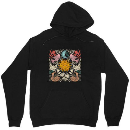 Floral Unisex Hoodie Designed By Wizarts