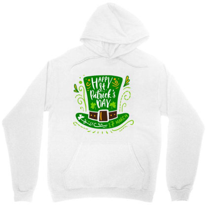 St. Patrick's Day 7 01 Unisex Hoodie Designed By Kroos_sell