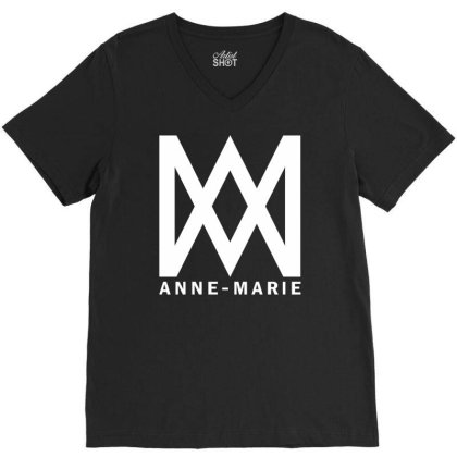 Anne Marie V-neck Tee Designed By Teehael