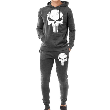 The Punisher Skull Hoodie & Jogger Set Designed By Constan002