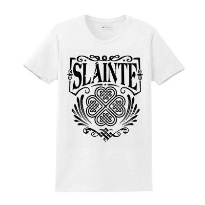 Slainte  Cheers Good Health Ladies Classic T-shirt Designed By Blees Store