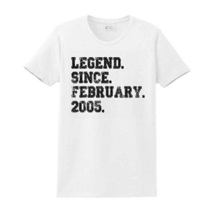 Legend Since February Ladies Classic T-shirt Designed By La Bold