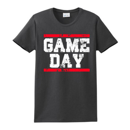 Game Day Ladies Classic T-shirt Designed By Alaska Tees