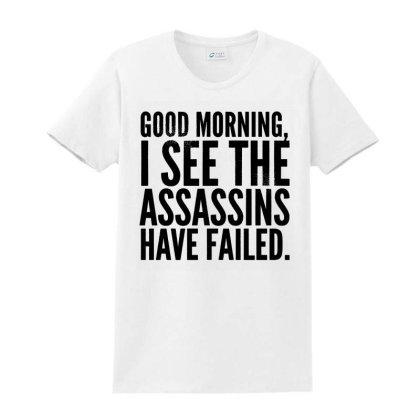 Good Morning Ladies Classic T-shirt Designed By Alaska Tees