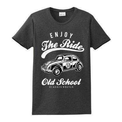 Enjoy The Ride Ladies Classic T-shirt Designed By Alaska Tees