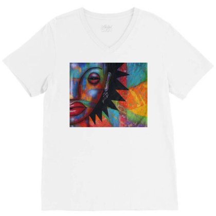 Calypso V-neck Tee Designed By Fred64