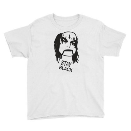 Stay Black Youth Tee Designed By Suryanaagus