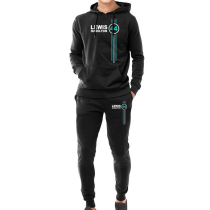 Lewis Hamilton Number 44 Hoodie & Jogger Set Designed By Hezz Art