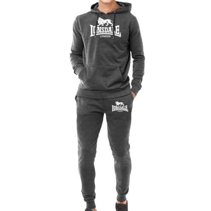 Lonsdale Classic Logo Lion Hoodie & Jogger Set Designed By Hezz Art