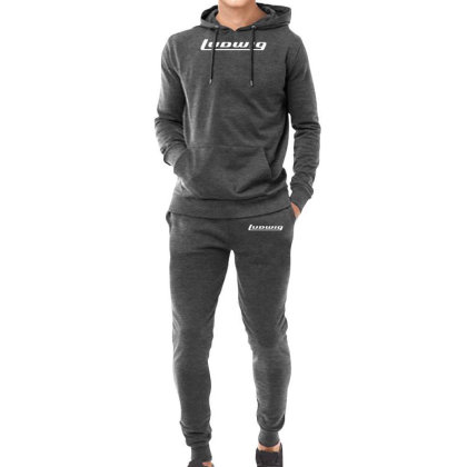 Ludwig Drums Music Instrument Hoodie & Jogger Set Designed By Hezz Art