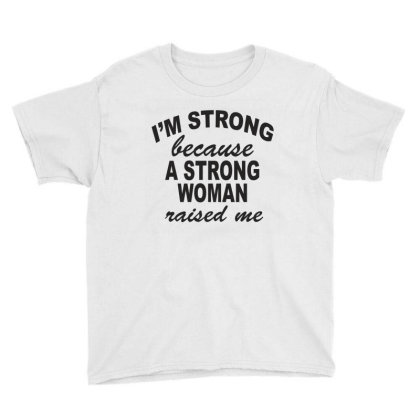 Strong Woman Youth Tee Designed By Suryanaagus