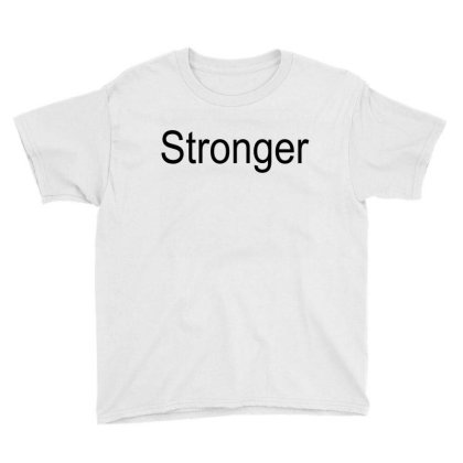 Stronger Youth Tee Designed By Suryanaagus
