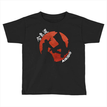 Aikido Toddler T-shirt Designed By Lumlum