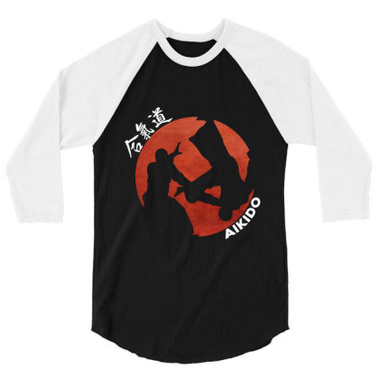 Aikido 3/4 Sleeve Shirt Designed By Lumlum