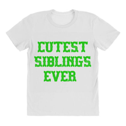 Cutest Siblings Ever All Over Women's T-shirt Designed By Artmaker79
