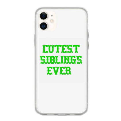 Cutest Siblings Ever Iphone 11 Case Designed By Artmaker79