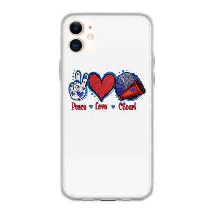 Peace Love Cheer Iphone 11 Case Designed By Apollo