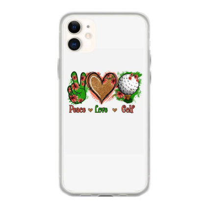 Peace Love Golf Iphone 11 Case Designed By Apollo