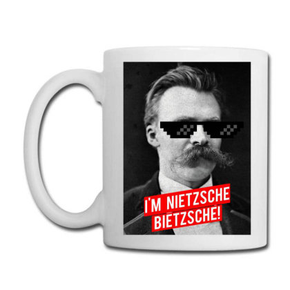 I'm Nietzsche, Bietzsche! Coffee Mug Designed By Sutra Lotus Co