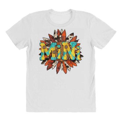 Mini Sunflower All Over Women's T-shirt Designed By Badaudesign