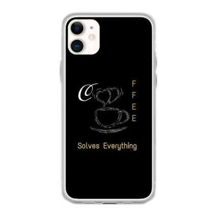 A Cup Of Coffee Iphone 11 Case Designed By Hu